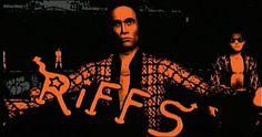 The Warriors - The Riffs , leader cyrus, logo