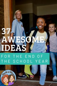 Ideas for the End of the School Year End Of Year Activities, Writing Activities, Holiday Classrooms, Classroom Ideas, Poem Recitation, Top Ten Books, Growth Mindset Posters, Class Library, End Of School Year