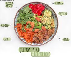 {Healthy Week} Mein liebster Quinoa Salat