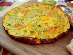 Frittata with Zucchini from CookingChannelTV.com