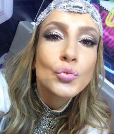Claudia Leitte Make Up Maquiagem Carnaval Smokey Esfumado Iluminado