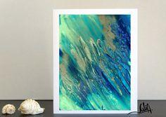 #54inch #TurquoiseandBlue #LargeCanvas #Seascape #TurquoisePainting, #AbstractArt, #Green #ArtforSale #OceanArt #OceanPrint #WallArt #LargeArt #EmeraldPainting #BeachDecor #Nautical  #LargeCanvasArt, #FineArtPrint, #CanvasPrint #WatercolorPainting, #Giclee, #TurquoiseHomeDecor by #JuliaApostolova #JuliaArtGifts on #Etsy