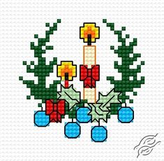 In Christmas - Free Cross Stitch Pattern