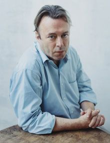 """Christopher Hitchens.  """"What is it you most dislike?"""" """"Stupidity, especially in its nastiest forms of racism and superstition."""""""