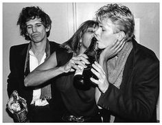 Keith Richards, Tina Turner , David Bowie