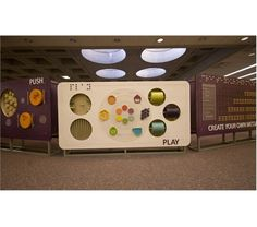 Interactive wall / partition / sound barrier / divider?