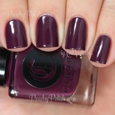 "Cirque Colors La Vie Boheme | Metropolis Collection | Peachy Polish""La Vie Boheme"" is a dusky plum creme.  Oooh, now this just screams Fall.  NIce and vampy.  2 luscious coats here."