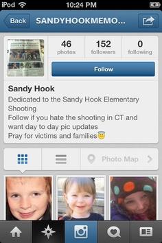 Instagram Sandy Hook Memorial