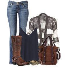 Amazing outfit!  Too bad my calves are too fat for the boots but still love it!... a girl can dream