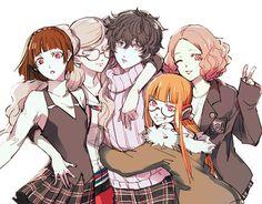 Akira and the girls