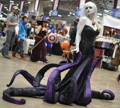 #Cosplay | Ursula - La sirenita www.beewatcher.es