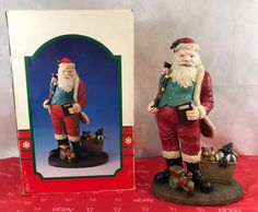 1992 Jolly St Nick Collection Vintage Santa Claus Figurine Collectible Gift   Collectibles, Holiday & Seasonal, Christmas: Current (1991-Now)   eBay!