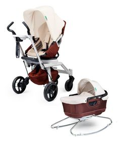 HOLY COW! $500 for an Orbit stroller on zulily. These retail for almost $1100!Mocha European Edition Stroller G2 & Bassinet Cradle G2 #zulilyfinds