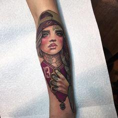Urban, arm tattoo on TattooChief.com