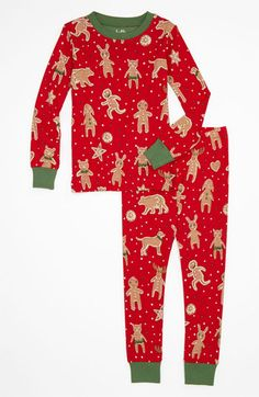 Hatley Two Piece Fitted Christmas jammies.