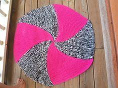 loom knit hexagon blanket free pattern