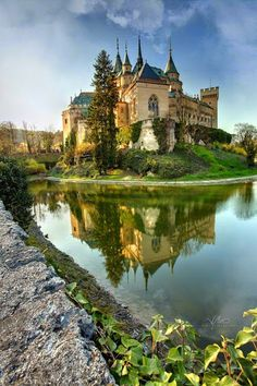 Castillo de Bojnice, Eslovaquia