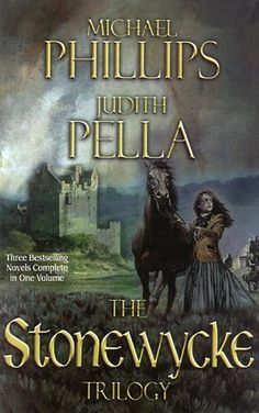 The Stonewycke Trilogy by Michael Phillips and Judith Pella. This dynamic duo of writers have spun a delightful, moving story of a young Scottish girl. And there are so many stunning descriptions of the beautiful land of Scotland. Action, suspense, romance, and so much more! I highly recommend this trilogy and the trilogy that follows it: the Stonewycke Legacy.