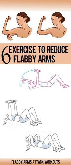 6 Exercises to Get Rid of ARM Flab at Home http://www.weightlossjumpstar.com/category/exercise/