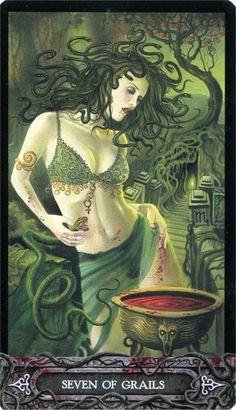 Tarot of Vampyres ► Seven of Grails