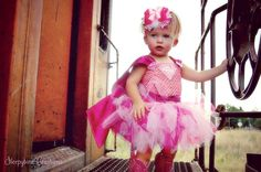 Pink Super Girl tutu dress with cape by Sleepytime4 on Etsy, $47.00