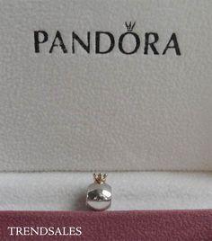 Pandora charm, the gold crown  790122