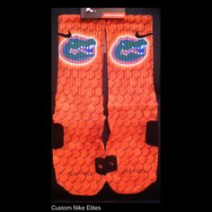 Authentic Nike Elite Customized Cibolo Cougars by TheSickestSocks, $35.99