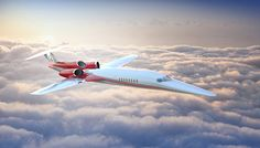 The company's design could reduce the flight time between Washington, D.C., and Paris by 3 hours.