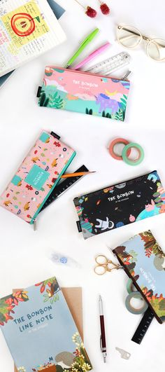Notebooks & Writing Pads Animal Cartoon Memo Pad Notebooks Writing Kawaii Boy Girl Office School Supplies Stationery Scrapbook Stickers Flags Note Page Agreeable To Taste