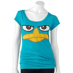 Perry the Platypus Face Tee