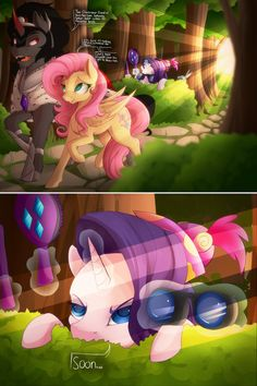 Rarity shall fix that mess of a mane, even if doing so results in somepony's fatality Soon by Evehly on DeviantArt