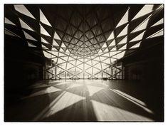 "Indoor sight Camera obscura, Zero45 Budapest, ""Bálna"""