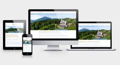 Hotel Château Gütsch - Responsive Webdesign Corporate Design, Das Hotel, Web Design, Lucerne, Design Web, Brand Design, Website Designs, Site Design, Branding Design
