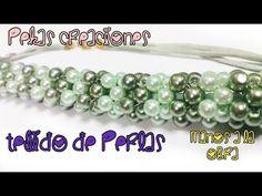 Como hacer un tejido en Perla para Collares : Pekas Creaciones - YouTube