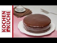 Sachertorte | Kochen und Küche Tiramisu, Ethnic Recipes, Regional, Desserts, Food, Youtube, Chocolate Sponge Cake, Baking, Biscuits
