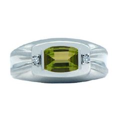 White Gold Diamond and Barrel-Cut Peridot Ring For Men Christmas 2015 Holiday Jewelry Deals, Sales At Gemologica.com. Xmas Presents guide, Gift Ideas For Him, Her, and Kids. Great Christmas Stocking Stuffer Ideas. Give the Gift of Jewelry From the Gemologica.com Jewelry Store. Unique Gifts, Personalized Gifts, Gift Finder @ www.gemologica.com/jewelry-gift-guide-c-82.html Enter Discount Coupon Code PINHOLIDAY At Checkout For 15% Off Your Entire Order Through Xmas