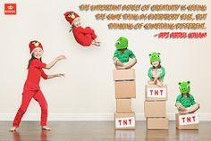 #Creativity is intelligence having #FUN!                                    - #AlbertEinstein