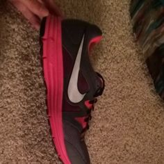 11af1266855e Nike Lunarfly Hot Pink  Gray Athletic Shoes  47 Fancy Shoes