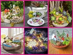 45 DIY Fairy Garden Ideas - DIY Small Garden Decorating