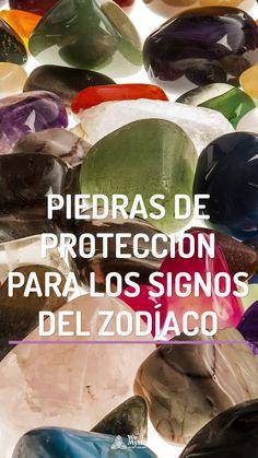Cristales, gemas y piedras de protección para los signos del zodiaco, que potencian sus cualidades y pueden ser usadas por ellos como amuletos.
