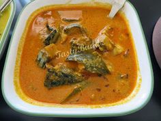 Thrissur meencurry Smoothie Diet, Smoothies, Kerala Fish Curry, Mackerel Fish, Thai Red Curry, Ethnic Recipes, Food, Essen, Smoothie