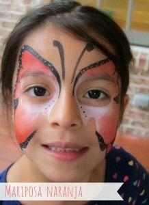 Cómo pintar la cara de los niños {paso a paso} | #Artividades