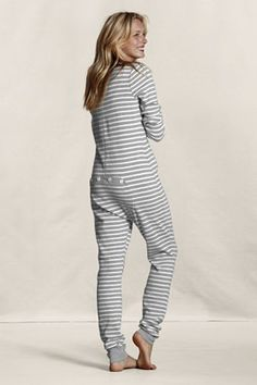 f36bff84d2 Women s Thermal Union Suit Pajamas (so much cuter than a snuggie!) Union  Suit