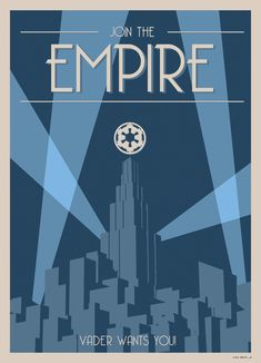 Star Wars Art-Deco-Style Poster - Join the Empire! - Imgur