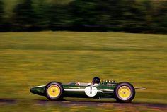 1963 Belgian GP, Spa : Jim Clark, Lotus-Climax 25 #1, Team Lotus, Winner. (ph: deviantart.com)
