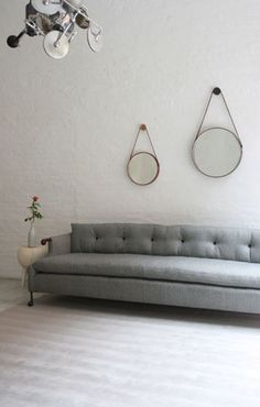 bddw - abel sofa:  mortise & tenon + 8-way hand-tied springs + horsehair + cotton + feather + goose down + hand-stitching + cast bronze hardware