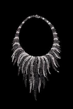 Rosendorff Indulgence Collection White and Black Diamond Necklace