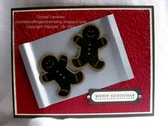 Scentsational Gingerbread Cookies by happy2stamp4ever - Cards and Paper Crafts at Splitcoaststampers
