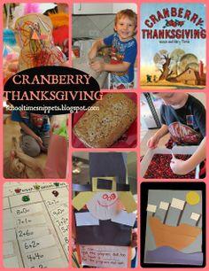 FIAR: Cranberry Thanksgiving