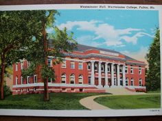 Westminster Hall, Westminster College, Fulton, MO